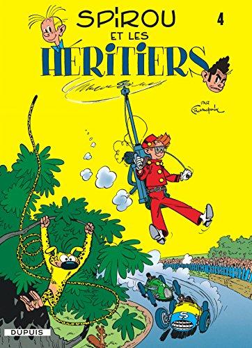 Livre occasion Spirou et Fantasio, tome 4 : Spirou et les héritiers