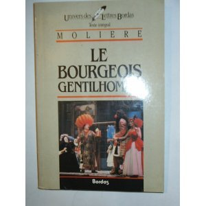 MOLIERE/ULB BOURG.GENTIL    (Ancienne Edition)