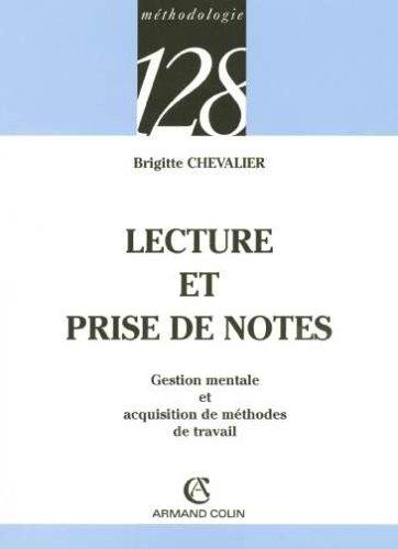 Livre occasion Lecture et prise de notes