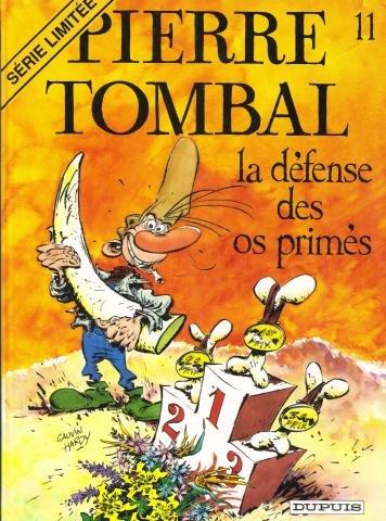 La Défense des os primés. Pierre Tombal, numéro 11