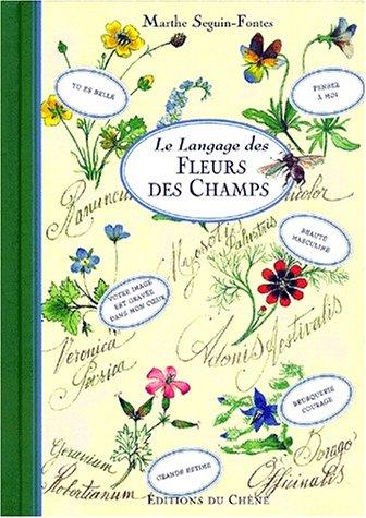 Le langage des fleurs des champs