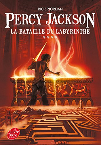 Livre occasion Percy Jackson - Tome 4 - La bataille du labyrinthe