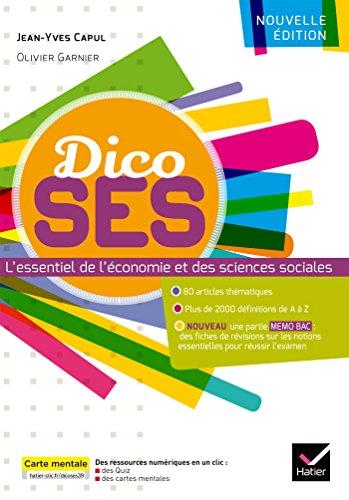 Dico SES - Dictionnaire d'économie et de sciences sociales