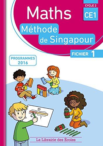 Maths CE1, méthode de Singapour, fichier 1 : Programmes 2016