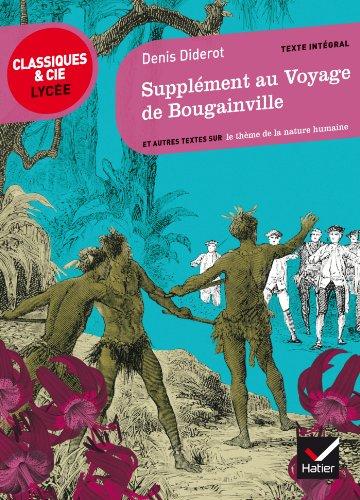 Supplément au Voyage de Bougainville: et autres textes sur le thème de la nature humaine