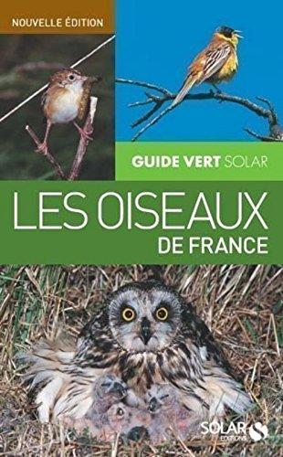 Guide vert des oiseaux de France NE