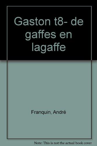 Livre occasion De gaffes en Lagaffe