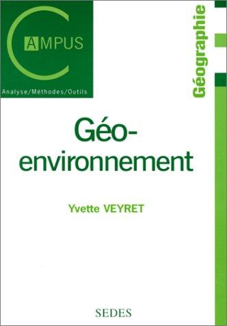 Géo-environnement