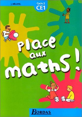 Place aux maths, CE1 - cycle 2. Manuel
