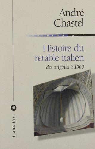 Histoire du retable italien : Des origines à 1500