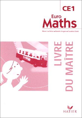 Euro Maths CE1 : Livre du maître
