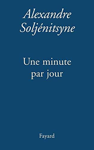 Livre occasion Une minute par jour