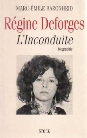 Regine Deforges : L'inconduite