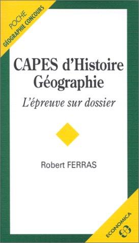 CAPES d'Histoire-Géographie