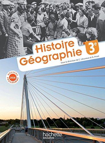 Histoire - Géographie 3e - Nouveau programme 2016