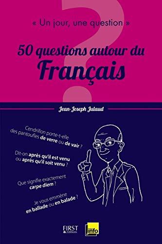 Livre occasion Un jour, une question : 50 questions autour du français
