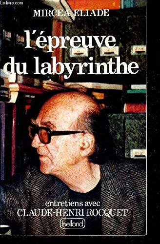 Livre occasion L'epreuve du labyrinthe