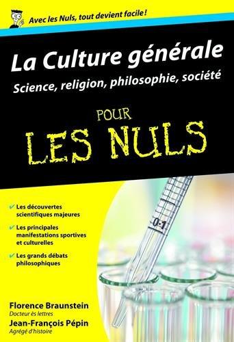 Culture générale Poche Pour les nuls Tome 2 : sciences, sports, loisirs et spiritualité (02)