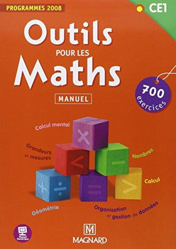 Outils pour les maths CE1 Manuel élève