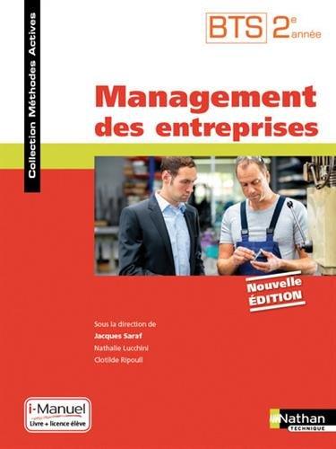 Management des entreprises - BTS 2ème année