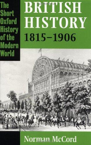 British History 1815-1906