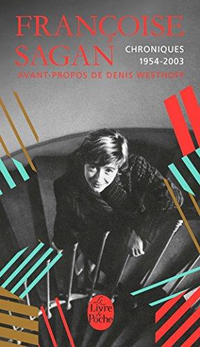 Livre occasion Chroniques 1954-2003