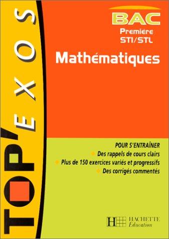 Mathématiques, 1ère STI, STL