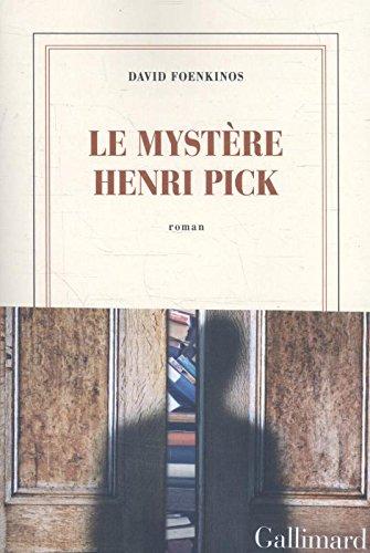 Livre occasion Le mystère Henri Pick
